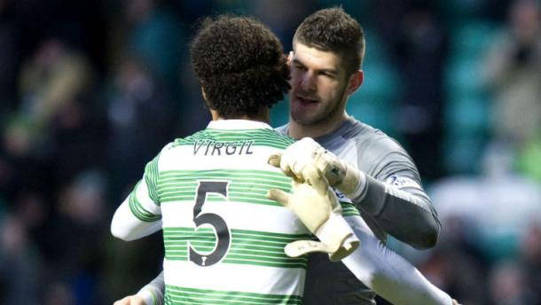 The two were teammates at Celtic as well. (Photo: STV)