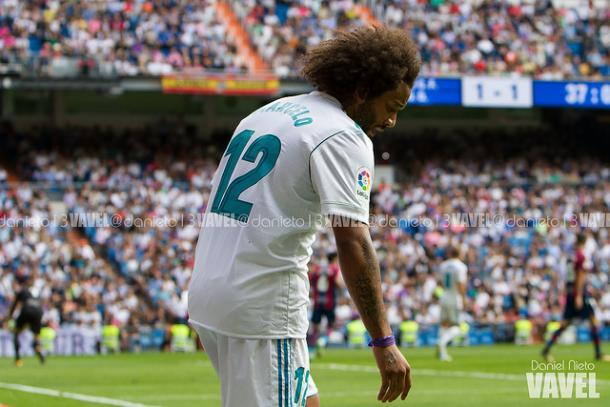 Expulso contra o Levante, Marcelo vai desfalcar o Real Madrid em dois jogos