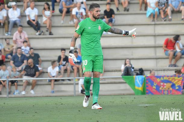 José Aurelio Suárez se enfrentó con sus excompañeros durante un amistoso de pretemporada | Foto: Noelia Déniz - VAVEL