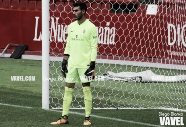 Daniel Martín durante un partido | Fotografía: Diego Blanco (VAVEL)
