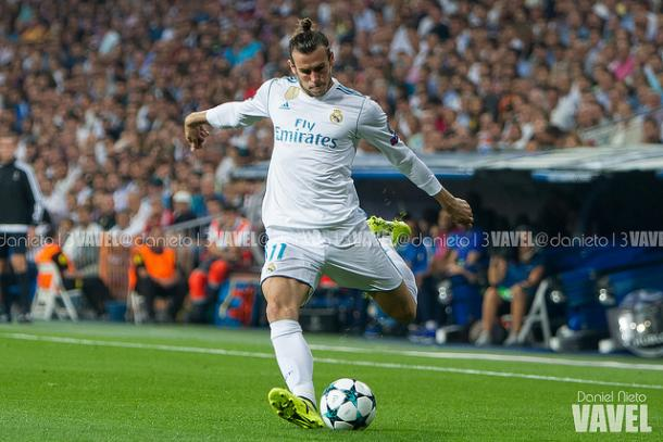 Bale durante el partido frente al Apoel | Daniel Nieto (VAVEL)