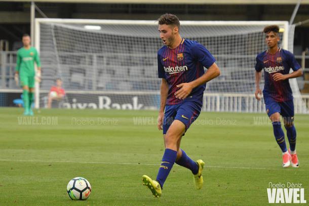 Imagen de archivo. El canterano Abel Ruiz marcó el tanto del FC Barcelona B | Foto: Noelia Déniz, VAVEL