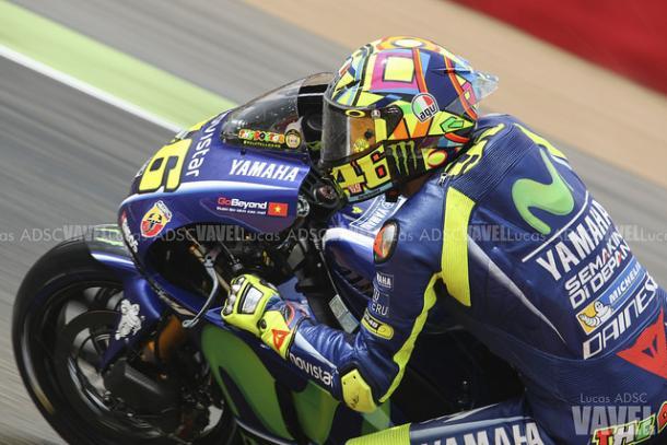 Valentino Rossi, tercer clasificado en Qatar / Foto: Lucas ADSC - VAVEL