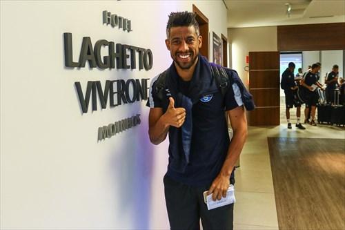 Moura é jogador de confiança de Renato Gaúcho (Foto: Lucas Uebel / Grêmio FBPA)