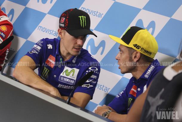 Viñales y Rossi, esperanzados con el GP Francia / Foto: Lucas ADSC