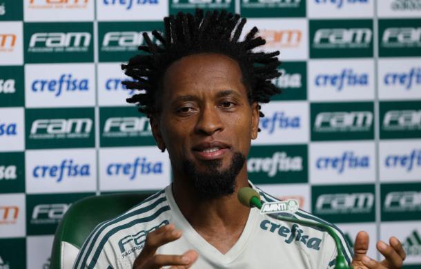 Zé Roberto en declaraciones / FOTO: Palmeiras