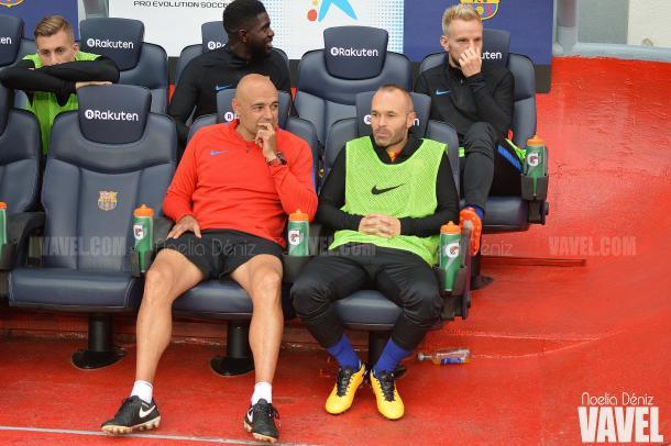 Este curso, el capitán solo ha empezado desde el banquillo contra Las Palmas en el Camp Nou | Foto: Noelia Déniz - VAVEL