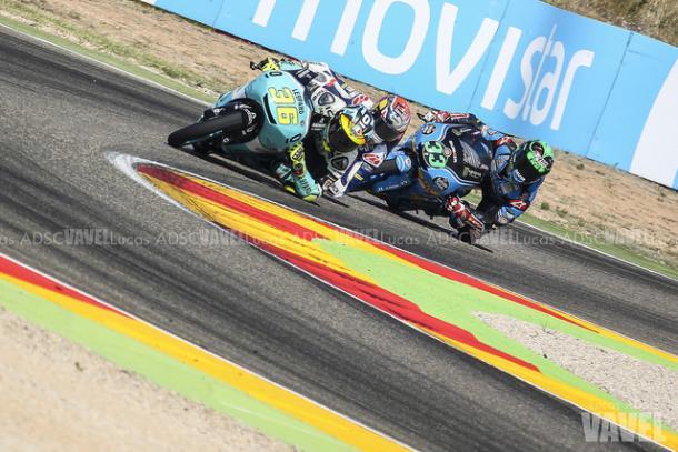 Mir durante la carrera de Motorland (Aragón)/ Lucas ADSC
