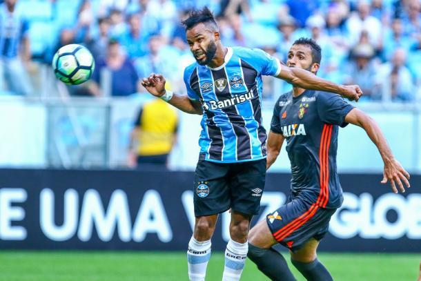 Leão teve tarde ruim e acabou goleado pelo Tricolor Gaúcho na Arena (Foto: Lucas Uebel/Grêmio FBPA)