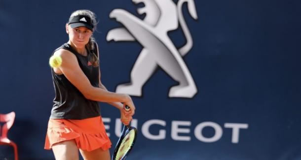 Juvan scored the biggest win of her career/Photo: LadiesOpenPA