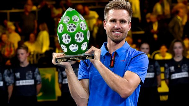 Peter Gojowczyk will look to defend his title in Metz after winning his maiden crown a year ago. Photo: ATP World Tour