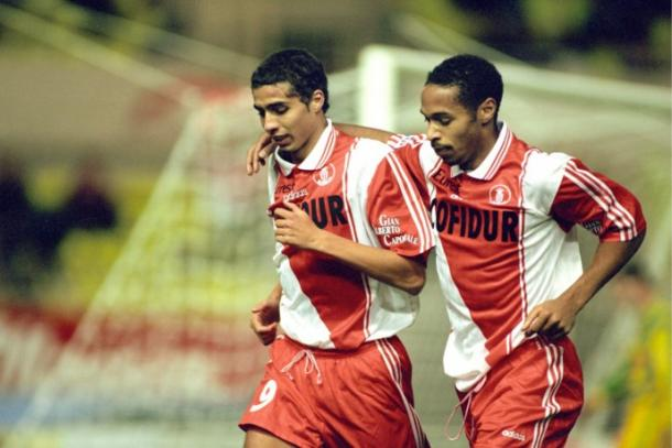 Trezeguet (L) and Henry (R) in their Monaco days | Photo: asmonaco.com