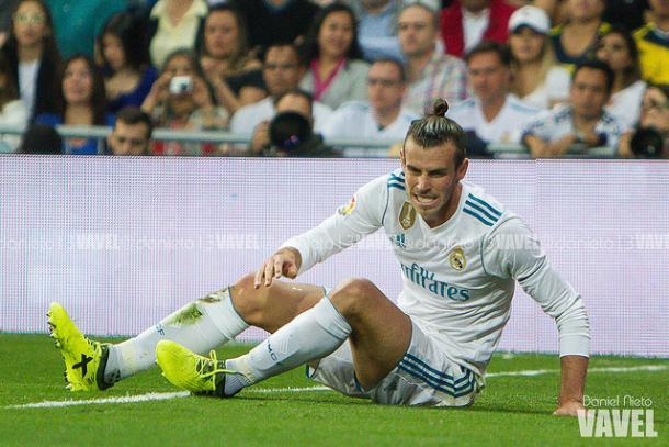 Bale se duele durante un partido | Foto: Daniel Nieto (VAVEL)