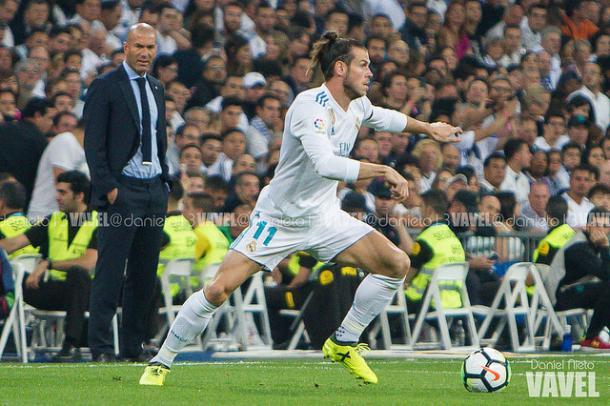 Bale durante un partido de esta temporada | Daniel Nieto (VAVEL)