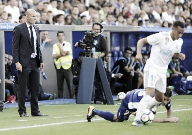 Zidane, con la mirada puesta en su próximo obetivo | Foto: Real Madrid CF