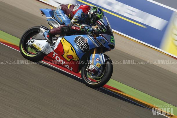 Franco Morbidelli durante el Gran Premio de Aragón.   FOTO: Lucas ADSC VAVEL