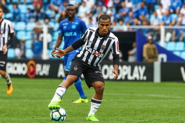 Otero marcou o gol de empate do Galo em Florianópolis (Foto: Bruno Cantini/Atlético-MG)