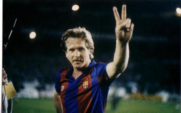 Bernd Schuster en su etapa con el Barcelona  Fuente: FC Barcelona