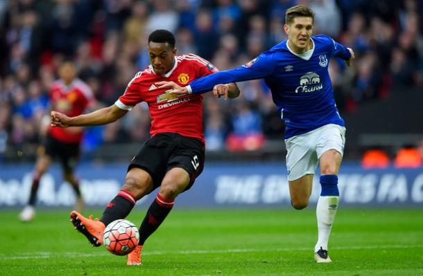 Martial won the game for the Reds in the last minute | Photo: Getty Images