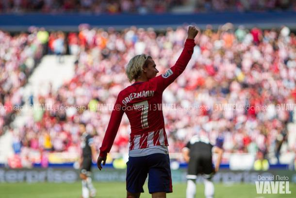 Griezmann, líder del Atlético | Foto: Daniel Nieto - VAVEL