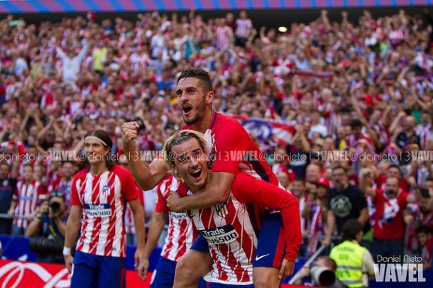 El Atlético estrena el Wanda Metropolitano | Foto: Daniel Nieto - VAVEL