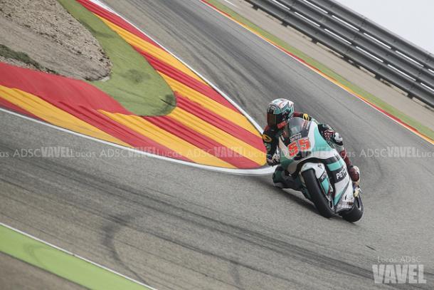 Syahrin en el GP de Aragón, en Motorland. Foto: Lucas ADSC - VAVEL.