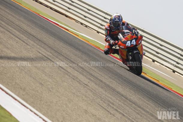Miguel Oliveira en el GP de Aragón. Foto: Lucas ADSC - VAVEL