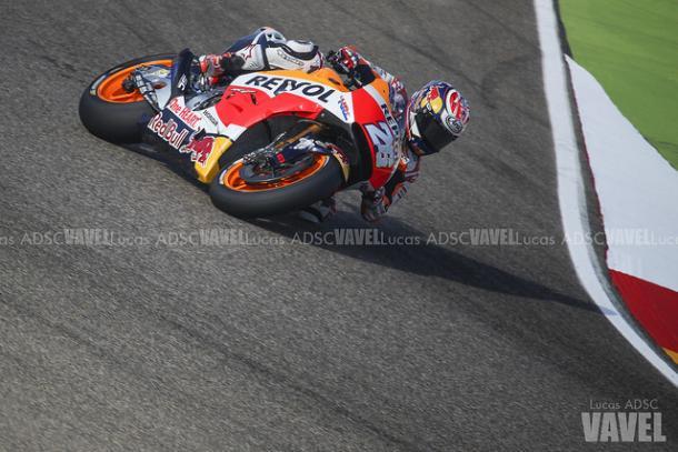 Dani Pedrosa consiguió su primera victoria en Jerez.   FOTO: Lucas ADSC VAVEL