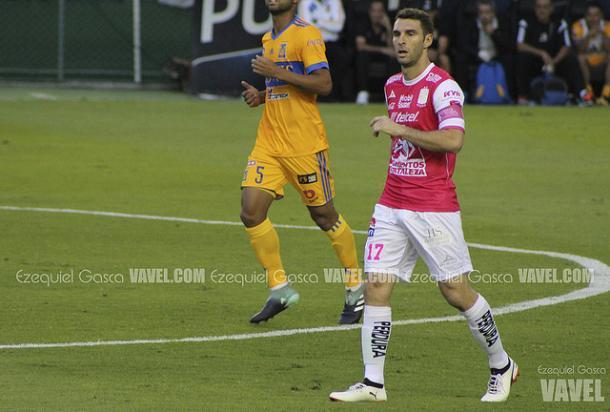 Mauro Boselli durante el duelo ante Tigres I Foto: Ezequiel Gasca VAVEL