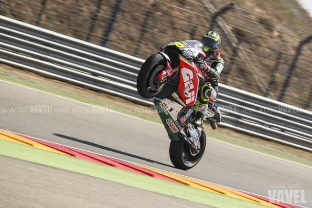Crutchlow, en el GP de Aragón / Foto: Lucas ADSC