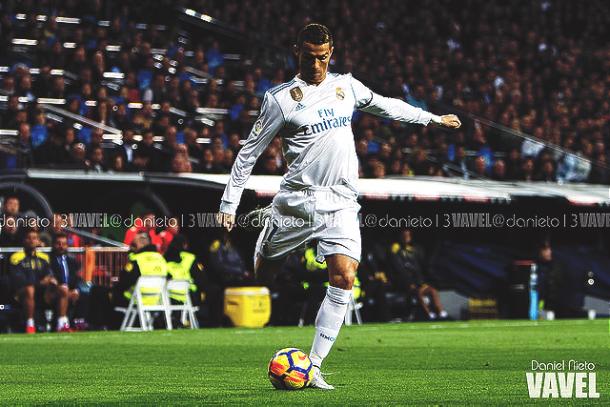 Cristiano Ronaldo con el Real Madrid. | Foto: Daniel Nieto, VAVEL