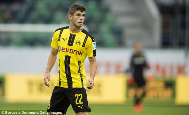 Only in the very beginning of his career, Dortmund winger Christian Pulisic is already having to deal with Americans' tendencies to make him