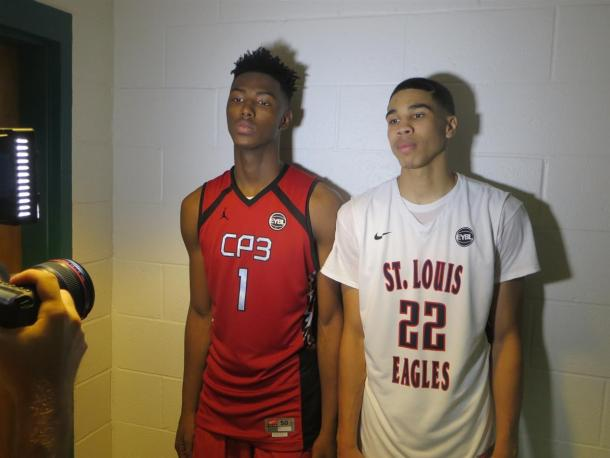 Harry Giles (left) and Jayson Tatum (right) are the two top recruits in the country. Duke247Sports.com