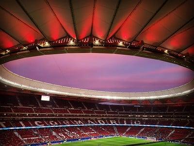 Estadio Wanda Metropolitano / Fuente: Flickr VAVEL España