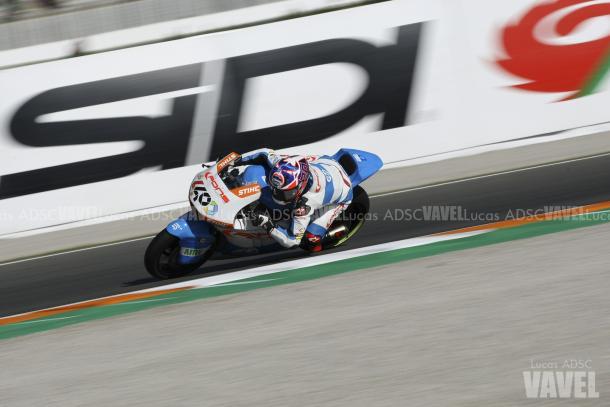 Fabio Quartararo en el Gran Premio de Valencia. Foto: Lucas ADSC - VAVEL
