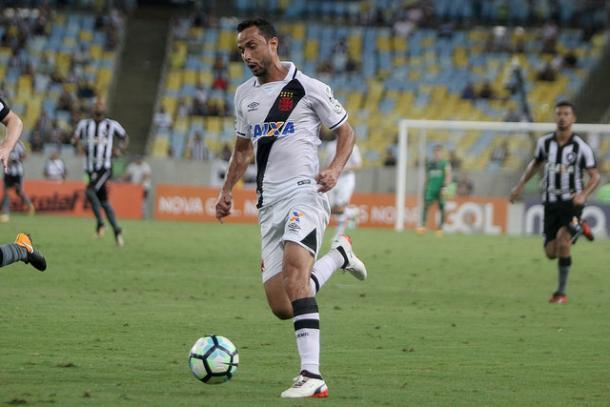 O gol de Nenê colocou o Vasco ainda mais na briga pela vaga na Libertadores. (Foto: Paulo fernandes/Vasco.com.br)