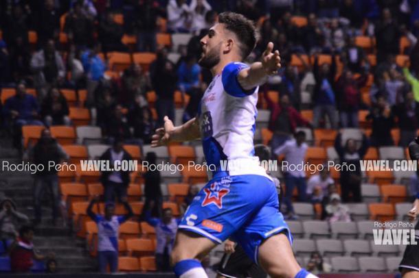 Lucas Cavallini en festejo de gol I Foto: Rodrigo Peña VAVEL