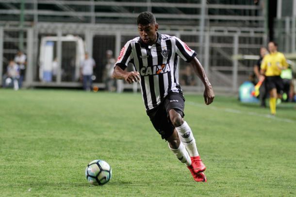 Embora esteja no grupo profissional do Galo, Capixaba disputou a final da Supercopa do Brasil pela equipe sub-20 (Foto: Pedro Souza/Atlético-MG)