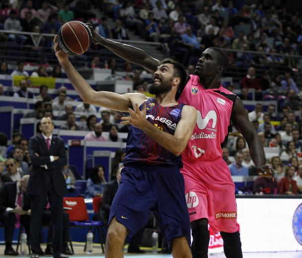 Estudiantes derrotó al Barça en el Palacio.   Foto: Estudiantes