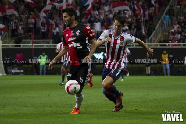 (Facundo fue expulsado a 5 minutos del final | Foto: Fabián Meza / VAVEL)