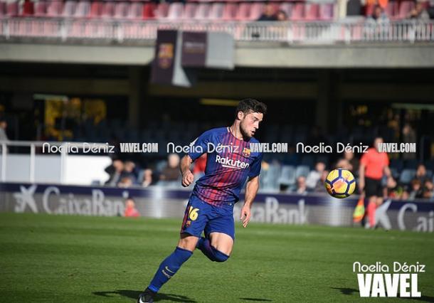 José Arnáiz un jugador clave para el fútbol de ataque azulgrana | Foto: Noelia Déniz - VAVEL