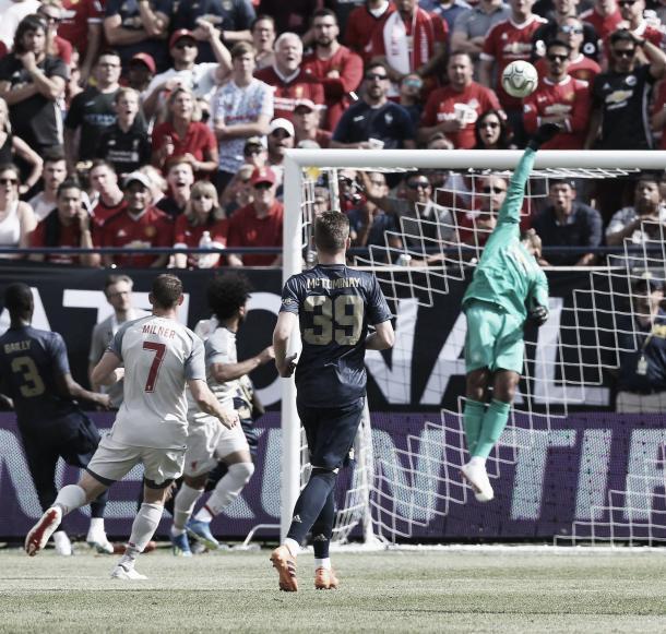 El Manchester sufrió ante el Livepool y fue goleado   Foto: Manchester United
