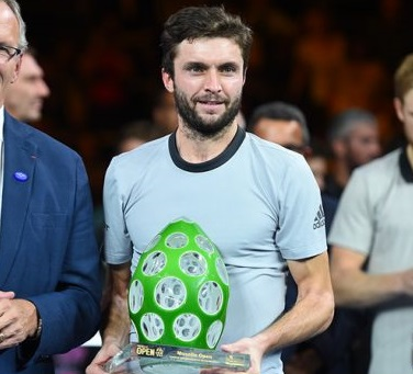 Gilles Simon moved back into the top 30 by winning in Metz. Photo: Moselle Open