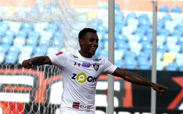 Wendel, que está próximo de acerto com o PSG, da França, pode ter feito seu último jogo pelo Fluminense e marcou o último gol tricolor na temporada (Foto: Divulgação/Fluminense FC)