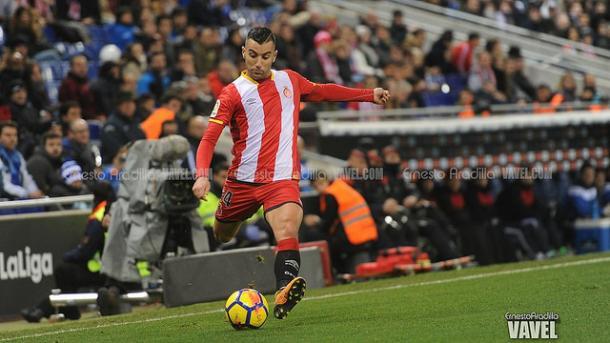 Borja García aporta la calidad y la magia en tres cuartos de campo.   Foto: Ernesto Aradilla