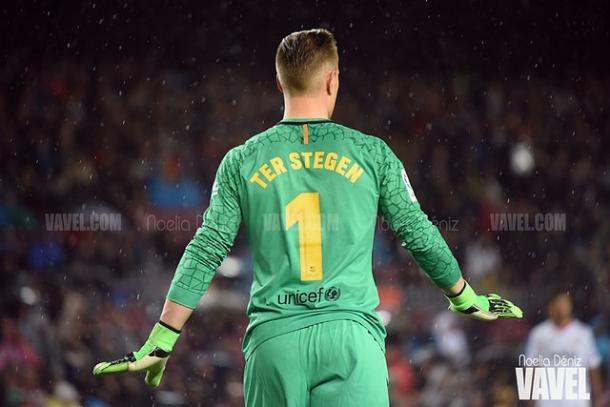Ter-Stegen, portero indiscutible para el Barça y para Alemania | Foto: Noelia Déniz - VAVEL