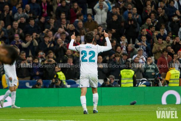 Isco celebra un gol ante Las Palmas   Daniel Nieto (VAVEL)