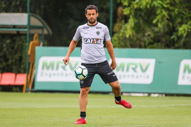 Artilheiro do Atlético na temporada, Fred reforça o time alvinegro (Foto: Bruno Cantini/Atlético-MG)