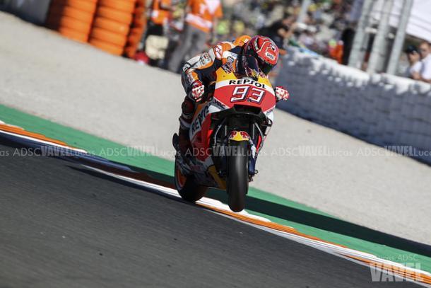 Márquez, Campeón del Mundo de MotoGP 2017 / Foto: Lucas ADSC