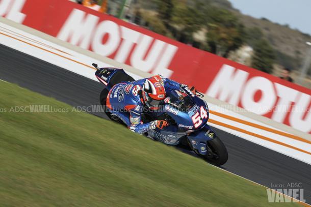 Mattia Pasini en el GP de Montmeló. Foto: Lucas ADSC - VAVEL